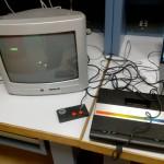 Gamepad Atari 7800 : pour jouer à Asteroids, il vaut mieux que le bouton 1 marche ...