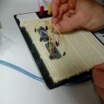 Reflashage du bootlader d'un Nano via un Nano : câblage en cours par Lionel B.