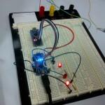 Reflashage du bootlader d'un Nano via un Nano : en cours sur le Nano de Lionel B.