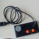 Réhab d'un gamepad Atari : aspect fini