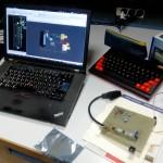 Adaptateur RGB vers composite pour ORIC : PCB et proto