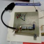 Adaptateur RGB composite pour ORIC : prototype