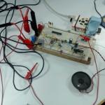 Prototype d'un récepteur de télécommande RF de prise électrique