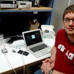 Rémy E. teste son kit Arduino Grove