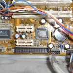 La carte-mère avec le support du BIOS vide