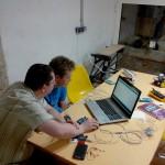 Waldeck G. 5 minutes avant de découvrir que les cables USB sont un peu longs ;-)