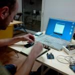 Un Arduino, des LEDs, une plaque à trous, un MAC, que du bonheur !