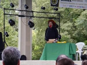 R. Stallman, aka iGNUcius, en gros plan ;-)