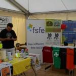 Stands April et FSFE