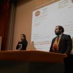 Adrienne Charmet et Benjamin Bayart lors de leur conférence