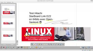 OpenSankoré, logiciel libre de Tableau Blanc Interactif.