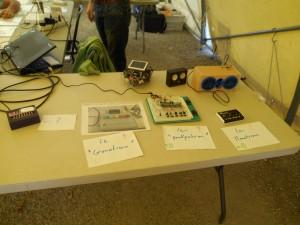 Quelques projets du L0AD : le Pokémon Monotron, des enceintes sans fil DIY, un robot
