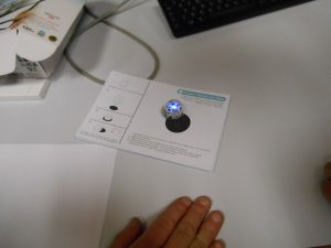 Ozobot en calibration