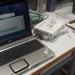 PC tournant sous Lubuntu, module GPS connecté à un Arduino