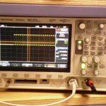 Mesure de la période du signal de commande d'une LED IR.